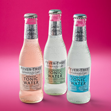 Fever-Tree Refreshingly Light Tonic Waters: Mediterranean