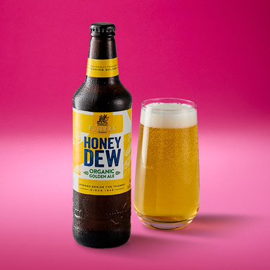 Fuller's Organic Honey Dew Golden Ale ABV 5.0%