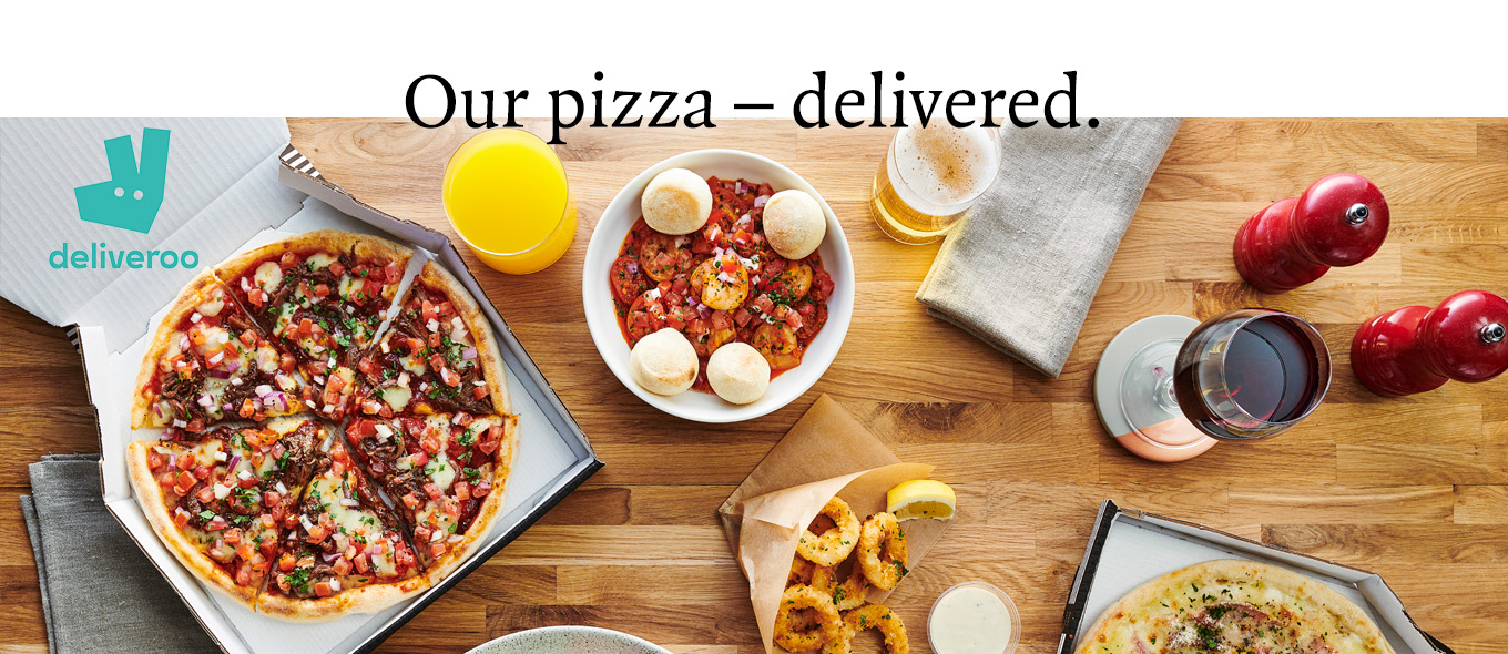 Delivery with Deliveroo