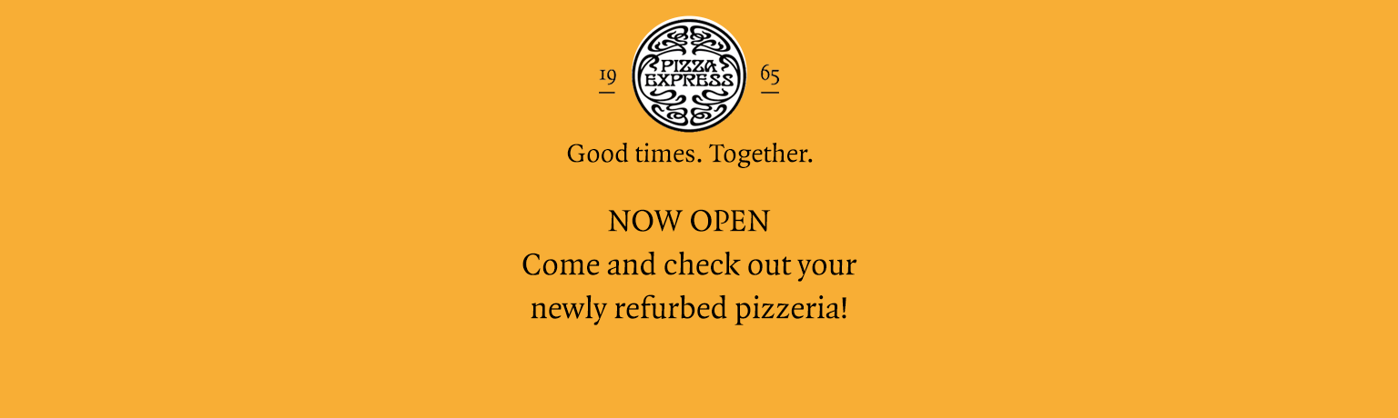Pizza Restaurant In South Woodford Pizzaexpress