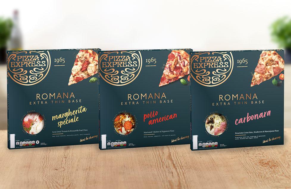 Romana: extra thin pizzas