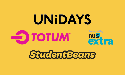 UNiDAYS, NUS powered by TOTUM & Student Beans