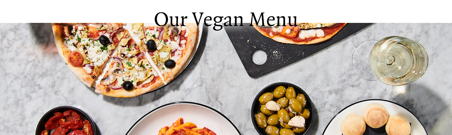 Our Vegan Menu Pizzaexpress